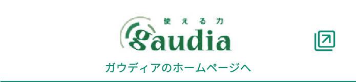 ガウディアのホームページ